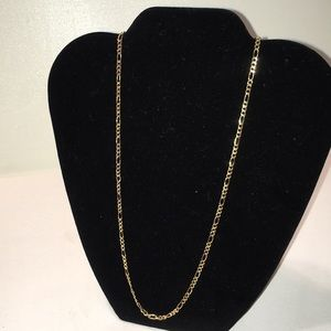 """Other - 20"""" 10kt Gold (Real) Figaro Chain Necklace"""